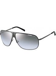 Carrera Unisex Aviator Full Rim Black Sunglasses CARRERA BACK 80s-5 RZZ/IC