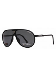 Carrera Unisex Champion Aviator Full Rim Black Grey Sunglasses CHAMPION/L DL5/Y2
