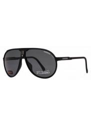 Carrera Unisex Champion Aviator Full Rim Black Grey Sunglasses CHAMPION/L DL5/Y2