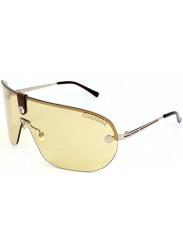 Carrera Unisex Aviator Half-Rim Yellow Light Gold Tone Sunglasses CARRERA 37 3YG/FS