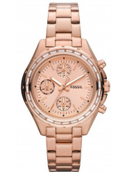 Fossil Women's Dylan Chronograph Rose Gold Dial Watch CH2826
