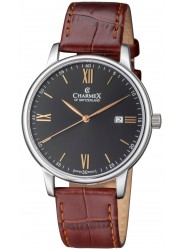 Charmex Amalfi Black Dial Stainless Steel Men's Watch CX-3022