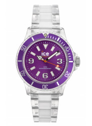 Ice-Watch Unisex Purple Dial Plastic Strap Watch CL.PE.U.P.09