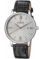 Charmex Amalfi Silver Tone Dial Stainless Steel Men's Watch CX-3015