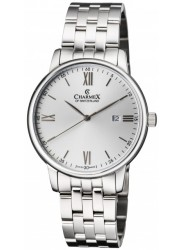 Charmex Men's Amalfi Silver Dial Stainless Steel Watch CX-3035