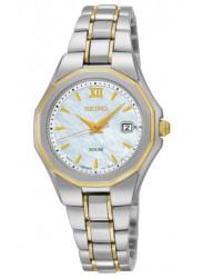 Seiko Women's Core Two Tone Watch SUT226