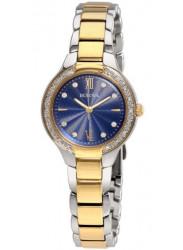Bulova Women's Maiden Lane Diamond Two Tone Watch 98R223