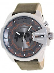 Diesel Men's Mega Chief Grey Dial Watch DZ4307