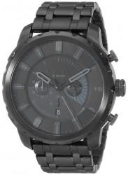 Diesel Men's Stronghold Black Stainless Steel Watch DZ4349
