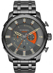 Diesel Men's Stronghold Chronograph Grey Dial Watch DZ4348