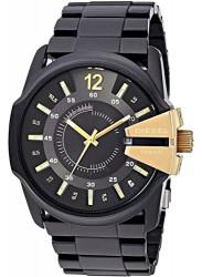 Diesel Men's Master Chief Black Dial Black Stainless Steel Watch DZ1209