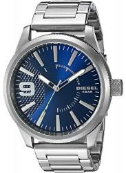Diesel Men's Rasp Blue Dial Stainless Steel Watch DZ1763