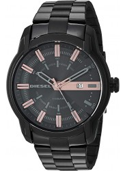 Diesel Men's Armbar Black Dial Black Stainless Steel Watch DZ1767