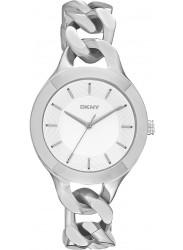 DKNY Women's Chambers Silver Tone Watch NY2216