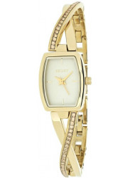 DKNY Women's Crosswalk Champagne Dial Gold Tone Watch NY2237