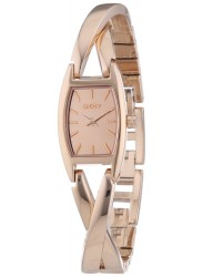 DKNY Women's Crosswalk Rose Gold Watch NY8874