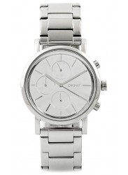 DKNY Women's Lexington White Dial Stainless Steel Watch NY8860
