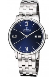 Charmex Amalfi Blue Dial Stainless Steel Men's Watch CX-3037