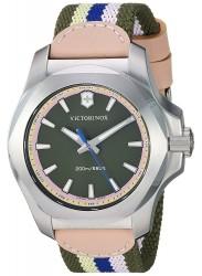 Victorinox Women's INOX Multi Colour Dial Multi Colour Fabric Strap Watch 241809