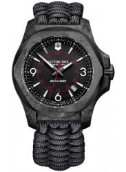 Victorinox Men's INOX Carbon Black Dial Black Paracord Watch 241776