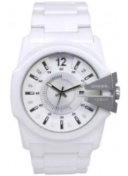 Diesel Men's Timeframes White Dial White Ceramic Watch DZ1515