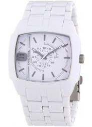 Diesel Men's Silver Dial White Watch DZ1548
