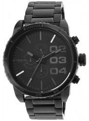 Diesel Men's Black Dial Stainless Steel Watch DZ4207