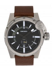 Diesel Men's Advanced Black Dial Stainless Steel Watch DZ4270