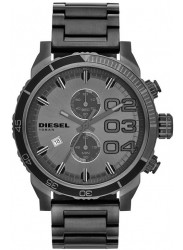 Diesel Men's Double Down Chronograph Grey Dial Watch DZ4314