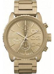Diesel Women's Chronograph Gold Tone Dial Watch DZ5302