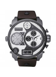 Diesel Men's Mr Daddy Chronograph Brown Leather Watch DZ7126