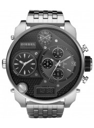 Diesel Mens Mr. Daddy Chronograph Black Dial Stainless Steel Watch DZ7221