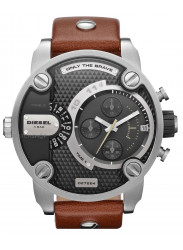Diesel Men's Super Bad Ass Brown Leather Watch DZ7264