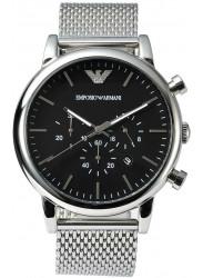 Emporio Armani Men's Classic Chronograph Black Dial Watch AR1808