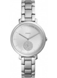 Fossil Women's Jacqueline Silver Dial Stainless Steel Watch ES4437