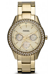 Fossil Women's Stella GTM Gold Tone Watch ES3101