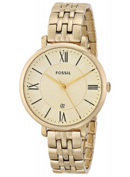 Fossil Women's Jacqueline Gold-Tone Watch ES3434