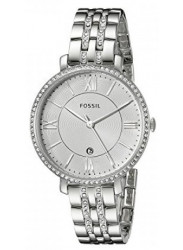 Fossil Women's Jacqueline Silver Dial Watch ES3545