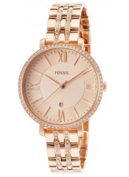 Fossil Women's Jacqueline Rose Gold Watch ES3546