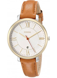 Fossil Women's Jacqueline Gold-Tone Stainless Steel Watch ES3737