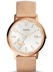 Fossil Women's Boyfriend Sand Leather Watch ES3751
