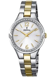 Festina Women's Petite Silver Dial Two Tone Stainless Steel Watch F20247/2