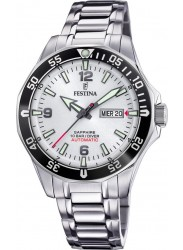 Festina Men's Automatic White Dial Stainless Steel Watch F20478/1