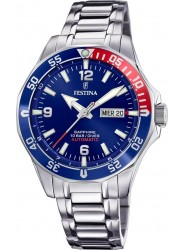 Festina Men's Automatic Blue Dial Stainless Steel Watch F20478/2
