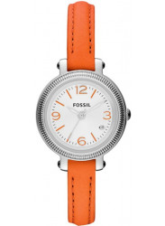 Fossil Women's Heather Silver Dial Watch ES3332
