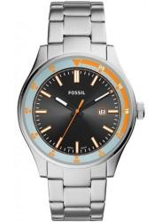 Fossil Men's Belmar Black Dial Stainless Steel Watch FS5534
