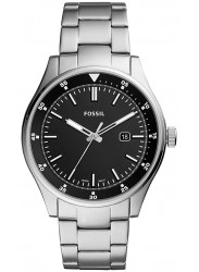 Fossil Men's Belmar Black Dial Stainless Steel Watch FS5530