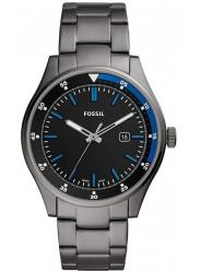 Fossil Men's Belmar Black Dial Grey Stainless Steel Watch FS5532