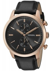 Fossil FS5097 Men's Townsman Gunmetal Dial Chronograph Watch