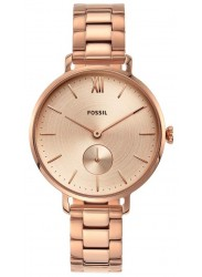 Fossil Women's Kayla Rose Gold Dial Rose Gold Stainless Steel Watch ES4571